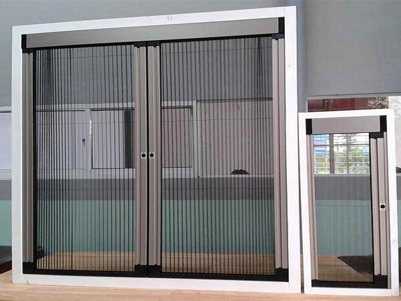 cửa lưới chống muỗi dạng xếp