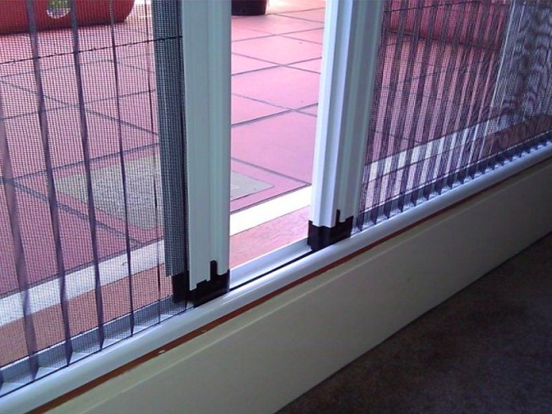 cửa lưới chống muỗi kiểu xếp